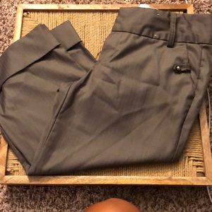 Gray Capri work pants